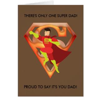 Cartão Dia dos pais Cartão-Bonito
