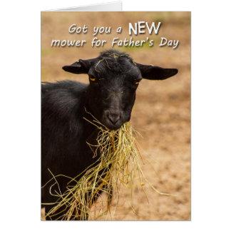 Cartão Dia dos pais do cortador de relva