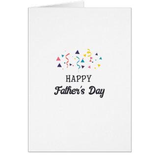 Cartão Dia dos pais feliz