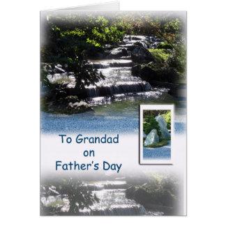 Cartão Dia dos pais feliz - para o avô