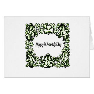 Cartão Dia feliz 2 de Patrick s