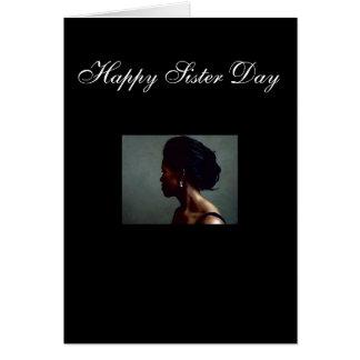 Cartão Dia feliz da irmã, dia feliz da irmã!! , Sis