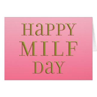 Cartão Dia feliz de MILF