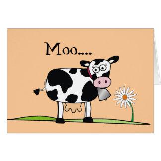 Cartão Dia MOO-Feliz de Mudders