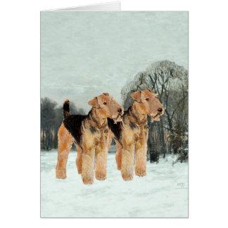 Cartão Dia nevado