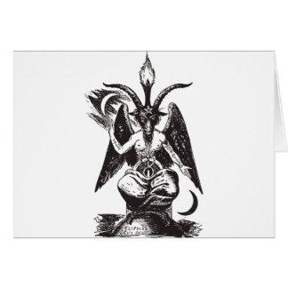 Cartão Diabo