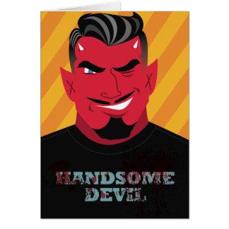 Cartão Diabo considerável