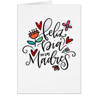 Cartão Diâmetro de las Madres de Feliz