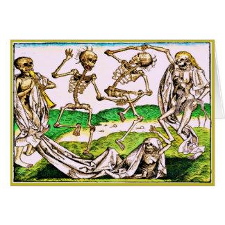 Cartão Diâmetro De Los Muertos Cartão-Danse macabramente