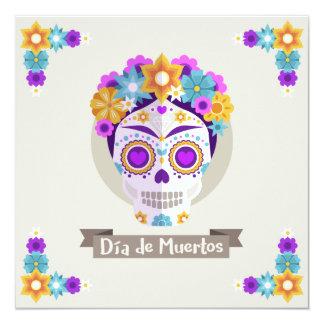 Cartão Diâmetro de los Muertos Dia do feriado inoperante