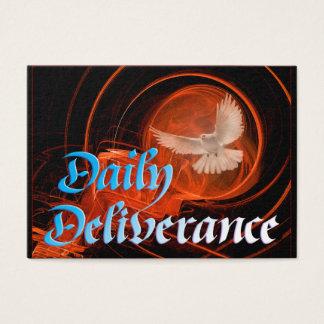 Cartão diário da libertação