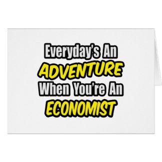 Cartão Diário uma aventura. Economista