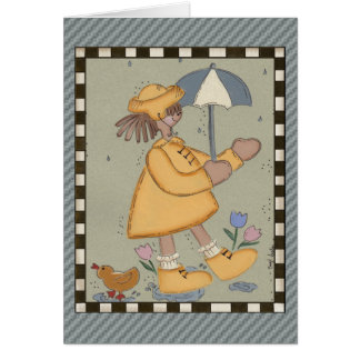 Cartão Dias chuvosos