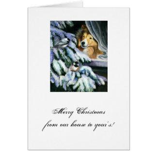 Cartão Dias da neve