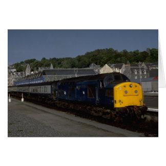 Cartão Diesel britânico da classe do delta de Rys