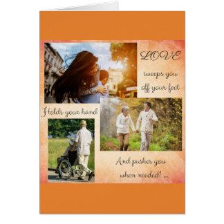 Cartão Diga a bainha quanto você os ama!