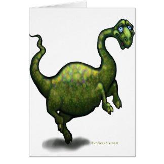 Cartão Dinossauro