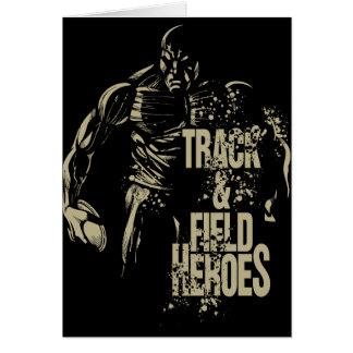 Cartão disco dos heróis do tnf