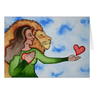 Cartão Discurso do coração por Rita Loyd