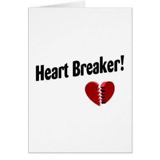 Cartão Disjuntor do coração!