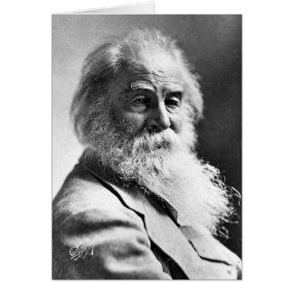 Cartão ❝Dismiss de Walt Whitman o que quer que insulta