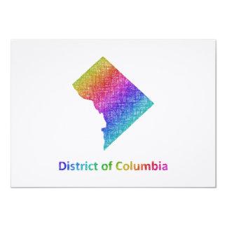 Cartão Distrito de Columbia