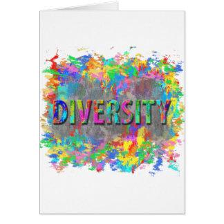 Cartão Diversidade
