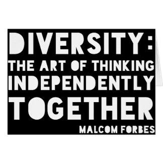 Cartão Diversidade Notecards