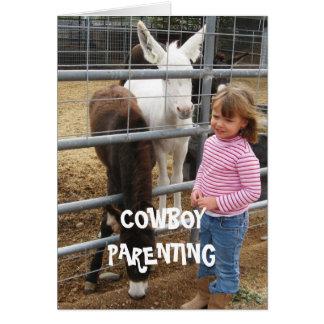 Cartão Diversidade - parentalidade do vaqueiro