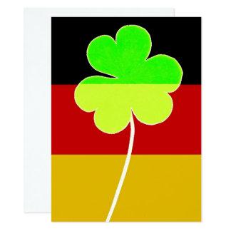 Cartão Divertimento alemão irlandês de St Patrick do