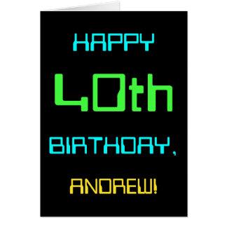 Cartão Divertimento Digital que computa o aniversário de