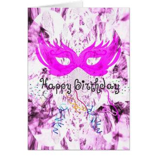 Cartão Divertimento do feliz aniversario
