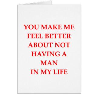 Cartão divorciado
