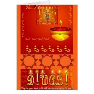 Cartão diwali