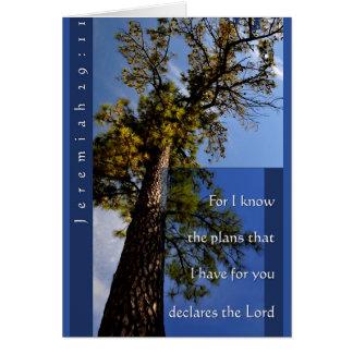 Cartão do 29:11 de Jeremiah