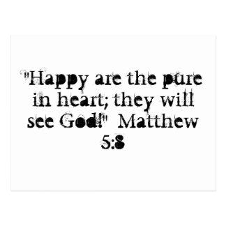 Cartão do 5:8 de Matthew