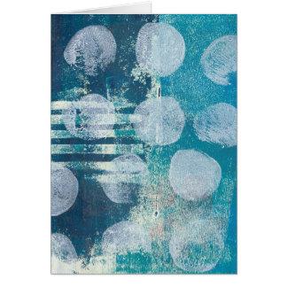 Cartão do abstrato 70255 de Monoprint