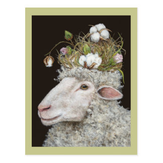 cartão do algodão