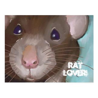 Cartão do amante do rato