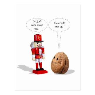 Cartão do amor do Nutcracker
