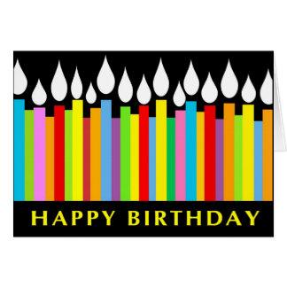 Cartão do aniversário - colega de trabalho do escr