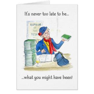 Cartão do aniversário ou da aposentadoria