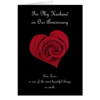 Cartão do aniversário para o marido