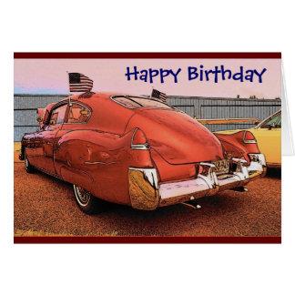 Cartão do aniversário (transportador)