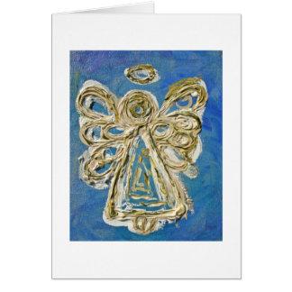 Cartão do anjo azul