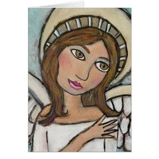 Cartão do anjo (customizável)