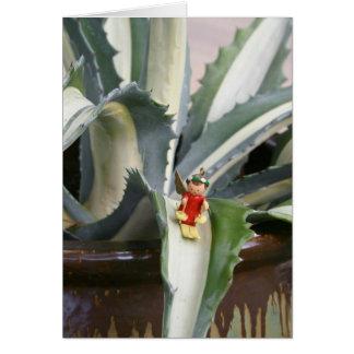 Cartão do anjo da agave
