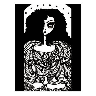 Cartão do anjo da arte da fantasia