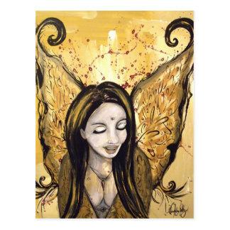 Cartão do anjo da harmonia