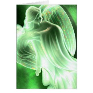 Cartão do anjo da terra